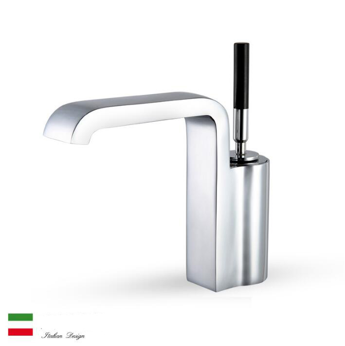 new high quality bathroom hot and cold basin faucet sink mixer single lever hot and cold sink tap with unique design new arrival high quality red and chrome single lever brief bathroom sink faucet basin faucet sink mixer