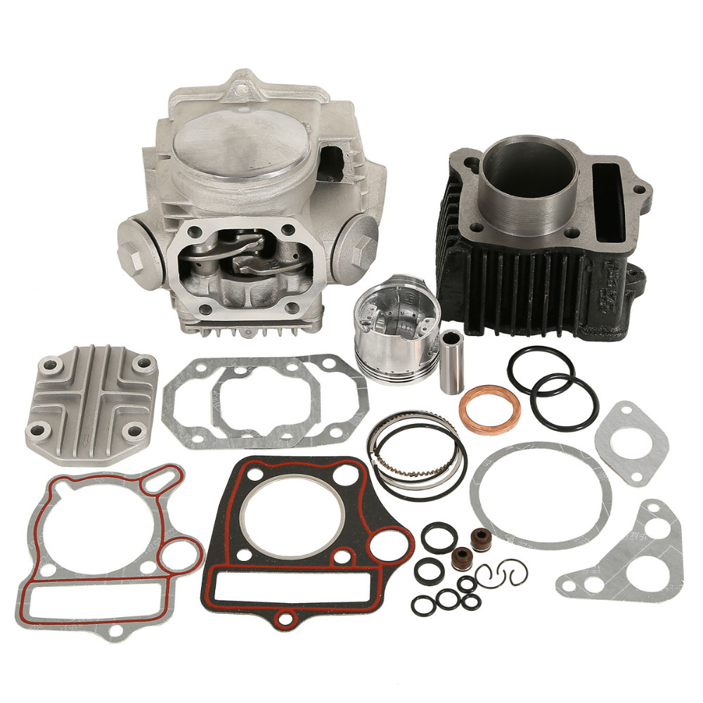 Motorcycle Cylinder Engine Motor Rebuild For Honda ATC70 CT70 TRX70 CRF70 XR70 70CC 49.5CM3-in Pistons & Rings from Automobiles & Motorcycles