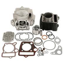 цены Motorcycle Cylinder Engine Motor Rebuild For Honda ATC70 CT70 TRX70 CRF70 XR70 70CC 49.5CM3