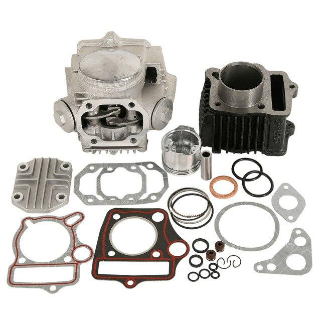 Motorcycle Cylinder Engine Motor Rebuild For Honda ATC70 CT70 TRX70 CRF70 XR70 70CC 49.5CM3