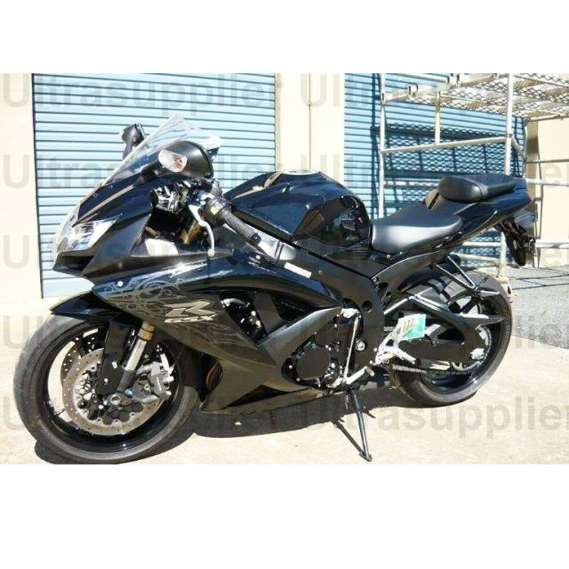 GSXR GSX-R 600 750 Gloss Matte Black Silver Injection Fairing for 2008-2010 Suzuki GSXR600 GSXR750 2009GSXR GSX-R 600 750 Gloss Matte Black Silver Injection Fairing for 2008-2010 Suzuki GSXR600 GSXR750 2009