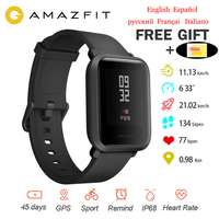 International Version Original Xiaomi Amazfit Bip Smart Watch Huami GPS Smartwatch Android iOS 45 Days Battery IP68