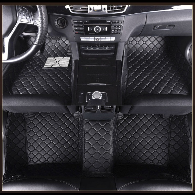 Custom Car Floor Mats For Fiat Freemont 500 Viaggio Bravo Ottimo Palio Weekend Car Styling Floor mats Carpets