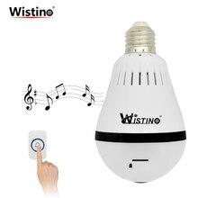 Wistino HD 960P IP Camera Bulb Wireless WiFi Doorbell Cameras Light CCTV Home Securtiy Baby Monitor Video VR Camera Night Vision
