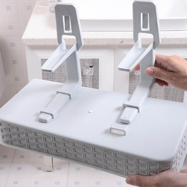 Multifunction Suction Cup Bathroom Storage Rack
