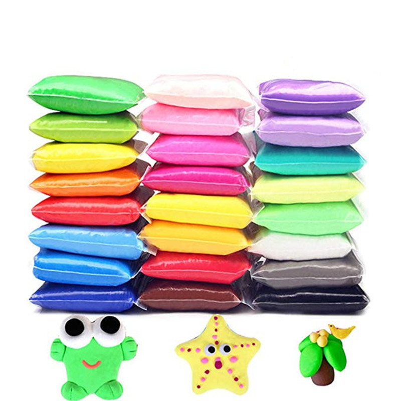 Fluffy Slime Clay Ball Supplies DIY Light Soft Cotton Charms Slime Fruit Kit Cloud Craft Antistress Kids Toys Plasticine Putty in Modeling Clay from Toys Hobbies