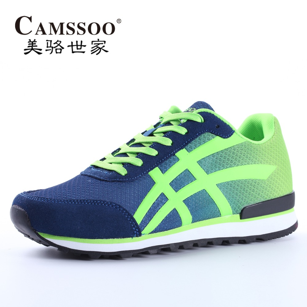 все цены на  CAMSSOO Men's Sports Running Shoes Sneakers For Men Sport Free Breathable Run Runners Athletic Trainers Jogging Shoes Man  онлайн
