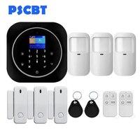 PS12 Tuya Home Security WIFI GSM Alarm System APP Remote Control PIR Door Window Sensor Burglar Alarm
