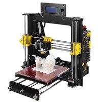 2018 Extrusão De Alumínio Clássico kit Impressora 3D 3d impressão PLA Materiais 1.75 branco Como Presente