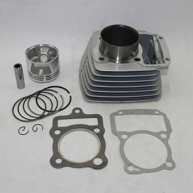 62mm Cylinder & Piston Set & Gasket All Sets For Honda CG150 150CC CG 150 Motorcycle Air-Cooled NEW
