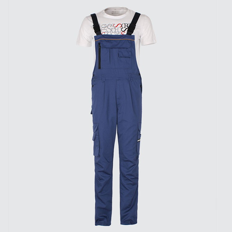 Men bib overall work coveralls fashion vintage locomotive repairman strap jumpsuit pants work uniform summer sleeveless overalls (6)