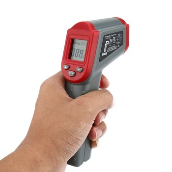 DT8500 Non Contact Infrared Thermometer with Auto Off and Data Hold Function for forehead Temperature Measurement