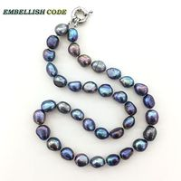 Baroque Irregular Pearl Necklace