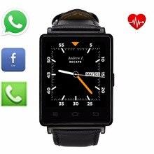 N0.1 D6 Bluetooth Smartwatch unterstützung Hebräisch Arabisch Koreanische quad core WiFi GPS FM Radio Facebook YouTube Skype WhatsApp Twitter