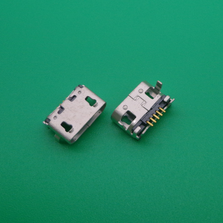 10pcs/lot Micro USB Charging Connector For Lenovo A7600 A7600H A788T S930 A656 A370 S390 A388T A3000-H