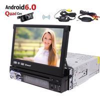 Android 6 0 Car Stereo 1 Din GPS Autoradio GPS Sat Nav CD DVD Player WIFI