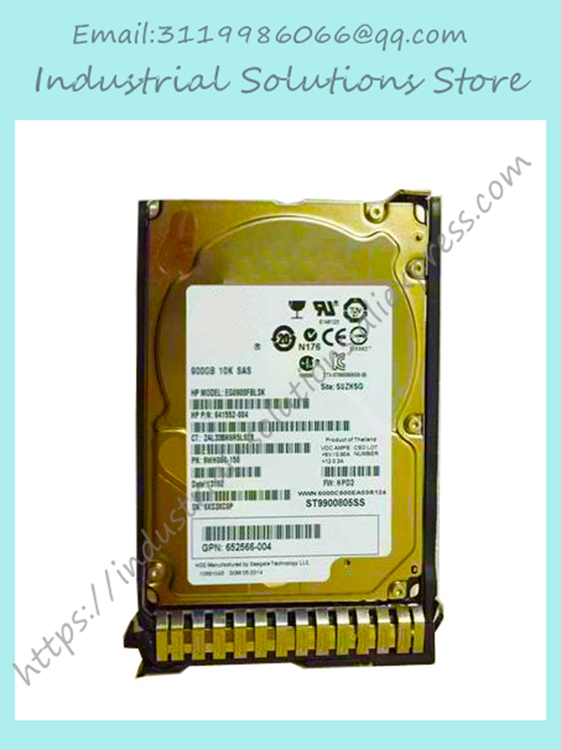 2.5 inch Server hard disk drive 652589-B21 653971-001 900GB 10K 6GB SAS SC HDD Brand new 3 years warranty server hard disk drive for g0m43a 757349 001 900g sas 10k 2 5 well tested working