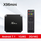 X96mini TV BOX Android 7.1 x96 mini Smart TV Box 1GB8GB 2GB16GB Amlogic S905W Quad Core 2.4GHz WiFi Set top box