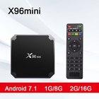 X96mini TV BOX Android 7.1 x96 mini Smart TV Box 1GB8GB 2GB16GB Amlogic S905W Quad Core 2.4GHz WiFi Set top box