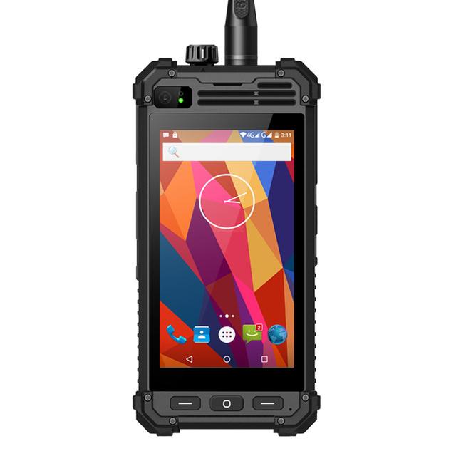 Original runbo m1 mtk6735 ip67 robusto teléfono impermeable android 5 w Radio DMR VHF UHF Walkie Talkie PTT Smarpthone 4G LTE 5300 MAH