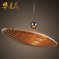 China's light designer American country retro personalized restaurant cafe bar airship Chandelier