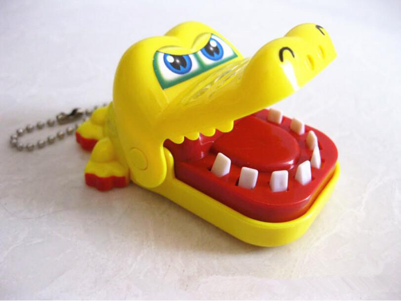 ZTOYL Lovely Funny Gags Toy Children Kid Crocodile Mouth