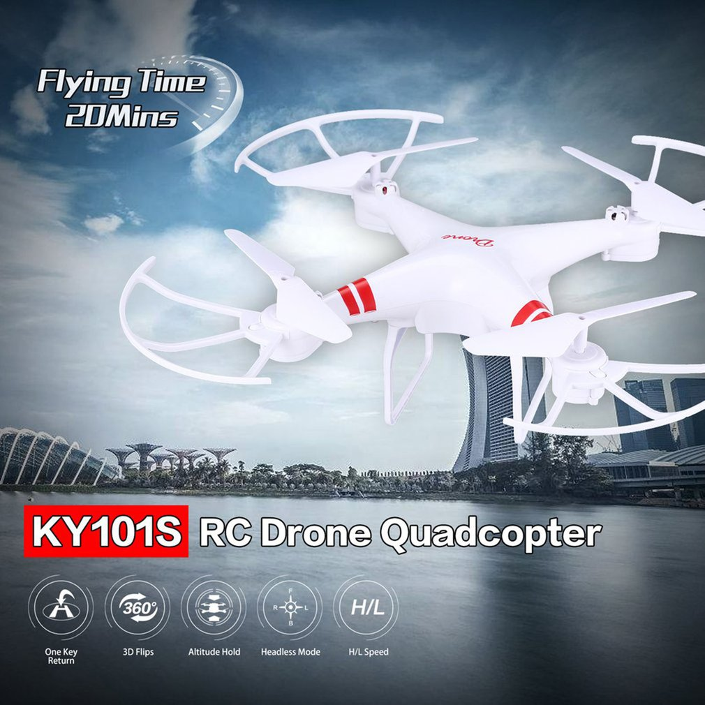 KY101 RC Drone With Camera One Key Return Landing Off Headless Long Flight Time RC Quadcopter Drone with 30W/200W/500W Camera