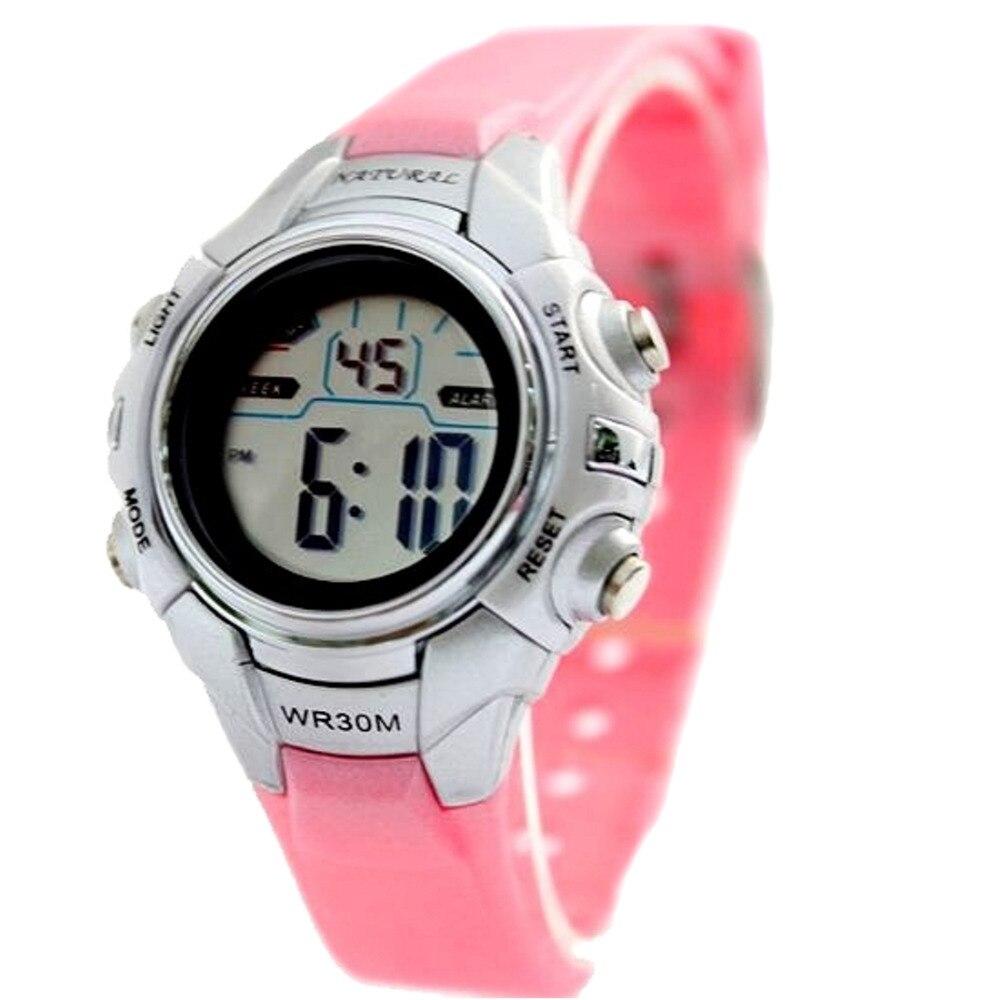 Wholesale 5Pcs DW121I Kids Children Digital Watches Water Resistant Back Light Alarm