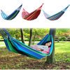 New Huge Single Cotton Fabric Hammock Air Chair Hanging Swinging Camping Outdoor [NF] HS