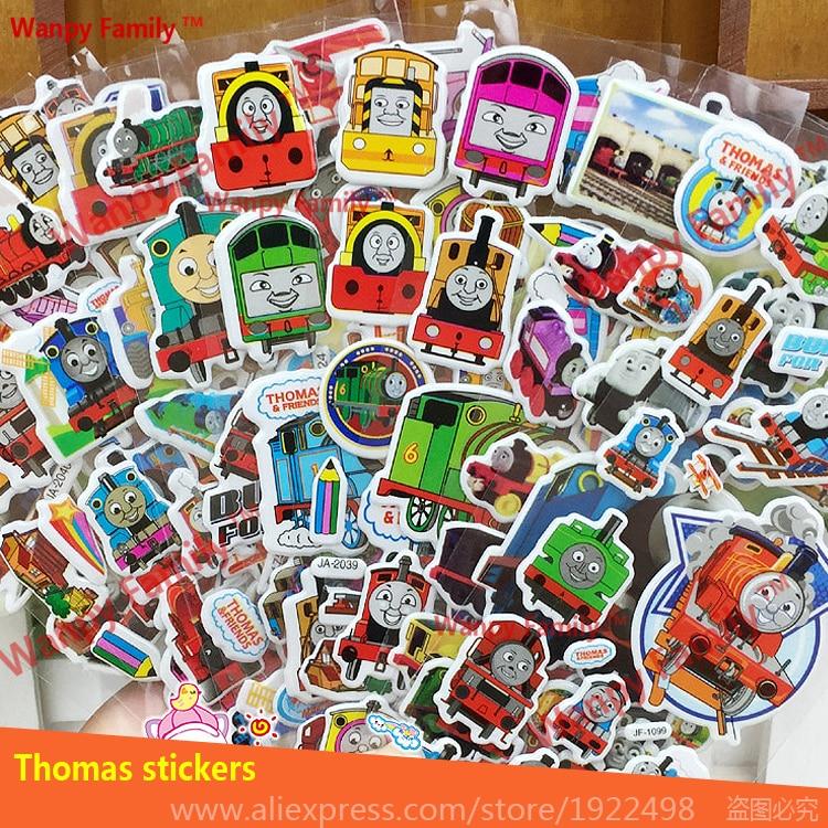 ₪Cute Funny Thomas Train ୧ʕ ʔ୨ stickers cartoon stickers