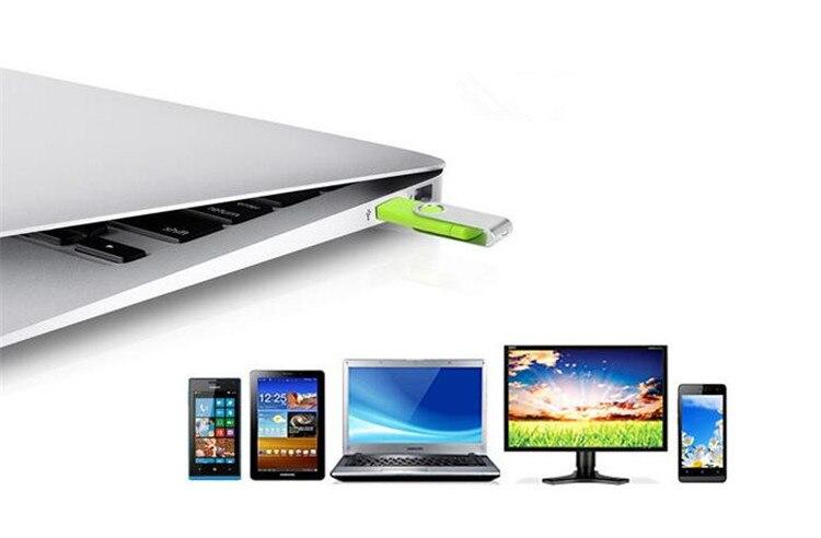 fashion Capacidade total OTG usb flash drive գրիչ drive 64 GB 32 - Արտաքին պահեստավորման սարքեր - Լուսանկար 6