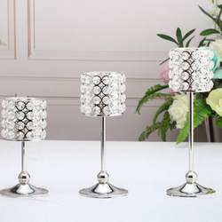 Европейский Романтический Кристалл подсвечник гостиная декоративная свеча для дома держатели Свадебные модные креативные канделябры