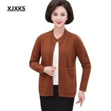 Xjxks Baru 2019 Musim Gugur dan Musim Dingin Wanita Sweater Hot Sale All-Match Hangat Sweater Wanita Plus Ukuran Cardigan(China)