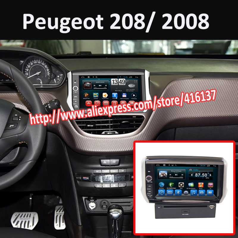online kopen wholesale touchscreen auto dvd speler voor peugeot 208 uit china touchscreen auto. Black Bedroom Furniture Sets. Home Design Ideas