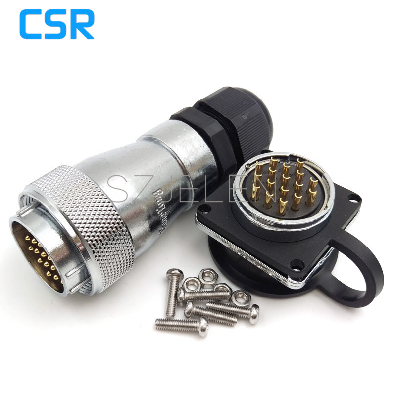 WF28 serie  waterproof 17pin connector IP67 male and female connector  Soldering Electric Cable Wire Waterproof Connector|connector ip67|solder wire connector|connector waterproof - title=