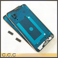 New housing for Samsung Note 3 n9000 n9005 bezel front plate frame faceplate with botton