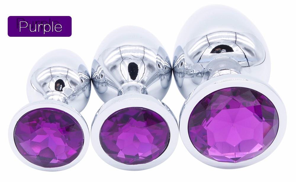 HTB1tsQ7OpXXXXclXpXXq6xXFXXXL Bejeweled Stainless Steel Butt Plugs - 3 size Combo Set For Men and Women