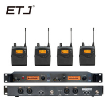 In Ear Monitor Wireless System  Professional for Stage Performance SR2050 IEM 4 Receiver For Stage Bodypack Monitor em2050 wireless in ear monitor system 10 ear monitoring systems wireless stage monitor system em2050 iem bodypack monitor