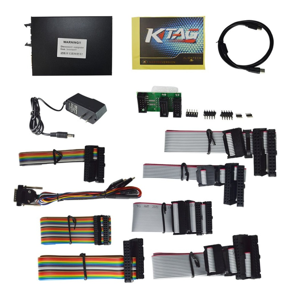 Cimiva KTAG V6.070 Car ECU Programmer Tool OBDII Adapter Car Diagnostic Tool OBD2 Manager Tuning Kit Master Version J21CZQ435100 ktag k tag ecu programming ktag kess v2 100% j tag compatible auto ecu prog tool master version v1 89 and v2 06