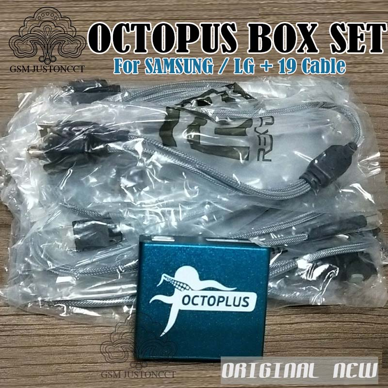 Octopus box / Octoplus box Full activated for LG and for Samsung 19cables including optimus Cable Set Unlock Flash &Repair Tool
