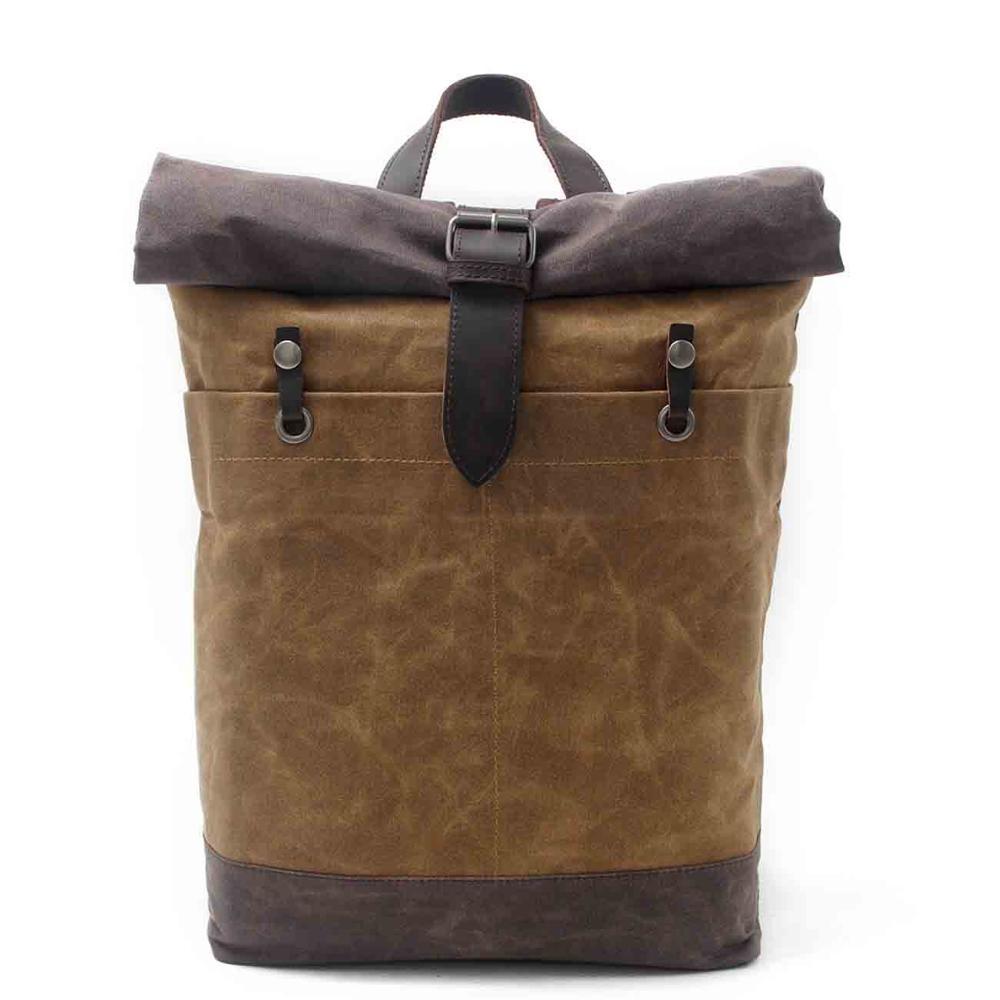Backpack Vintage Canvas Backpack School Bag  Travel Bags Large Travel Laptop Waterproof Backpack Bag
