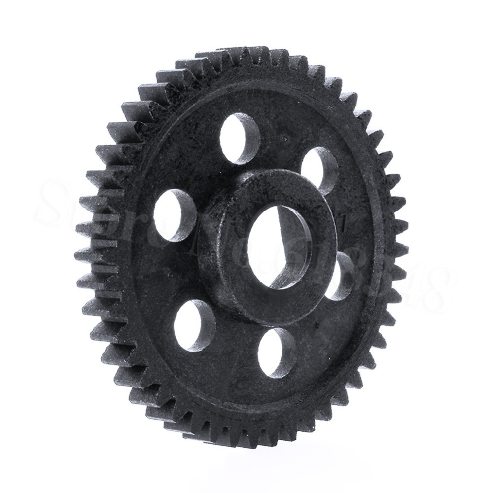 Fit HSP 1//10 Nitro Off-Road Buggy 94106 94166 47T RC 06232 Plastic Spur Gear