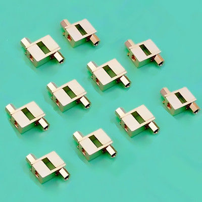 20 Pcs Gold Plated Spade Banana plug For Mcintosh Fisher Eico tube Adapter atlas mavros wired 4x4 7 0m transpose spade gold