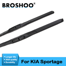 Car Wiper Blade for KIA Sportage, 24+18inch soft rubber Auto part windscreen wiper blades Car accessories Free shipping 1Pair