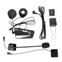 T9S 1000 Meters Real Time Communication Motorcycle Helmet Wireless Bluetooth Intercom Headset