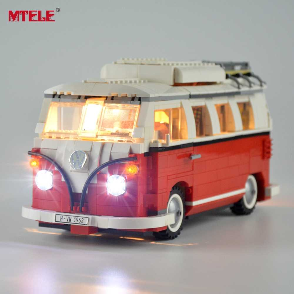 Mtele Diy Led Light Up Kit Voor Creator Serie De T1 Camper Van Compatile Met 10220 21001