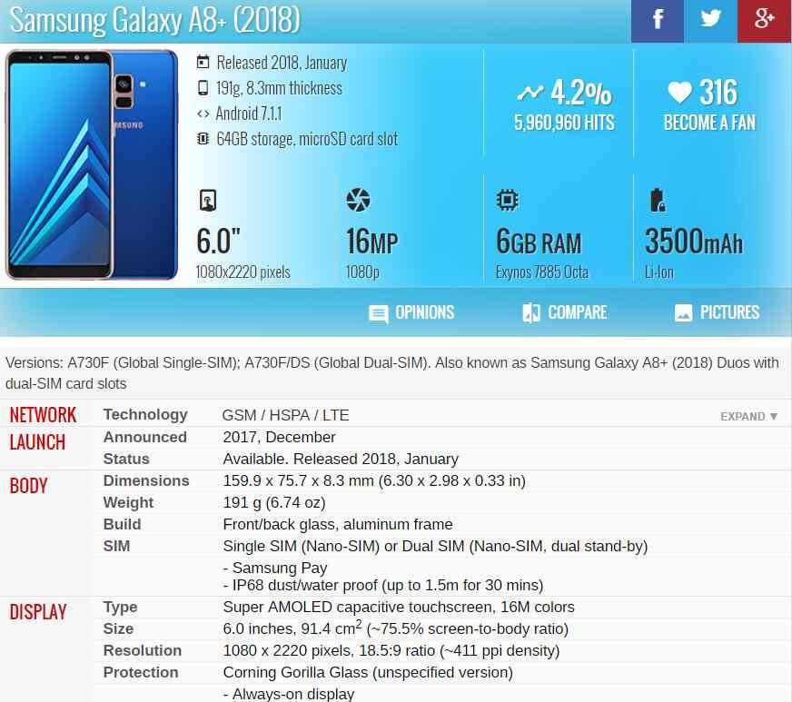 الأصلي شاشة عرض LCD لسامسونج غالاكسي A8 زائد 2018 LCD A730 A8 + 2018 LCD A730F شاشة إل سي دي باللمس قطع غيار محول رقمي