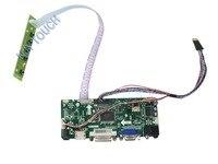 M.NT68676.2A Universal HDMI VGA DVI Audio LCD Controller Board for 11.6 inch 1366x768 B116XW03 40 pin LED Monitor repair DIY