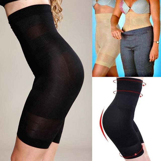 c6585bd3a2d7 Black Women Body Shaping High Waist Pants Womens Breathable Trigonometric  Panties Slim Seamless Shaping Pants Underwear