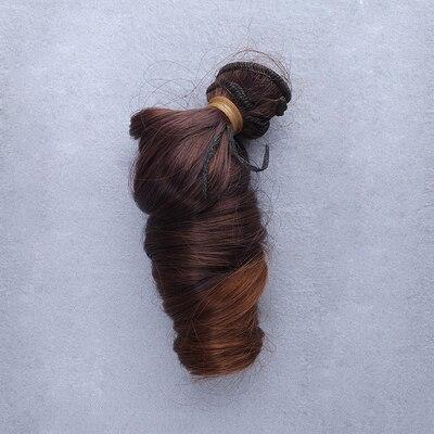 1 st 15cm * 100cm DIY Hög temperatur Curly hår för docka 1/3 1/4 - Dockor och tillbehör - Foto 5